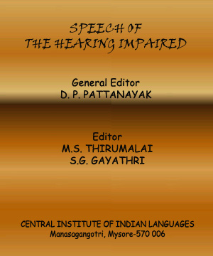 Speech of the Hearing impaired