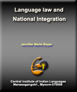 Language Law and National Integration