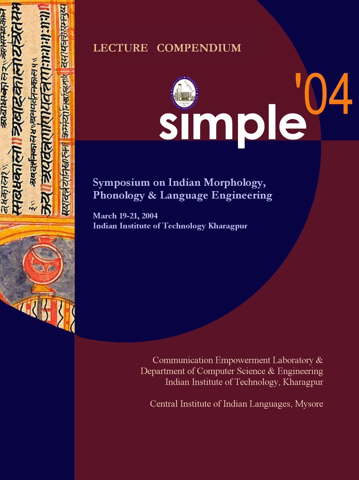 Symposium on Indian Morphology,Phonology & Language Engineering